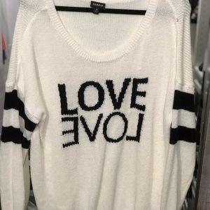 Torrid Love Sweater - Size 2